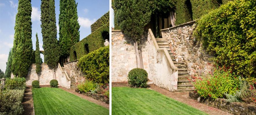 Progettazione aree verdi: il giardino di Villa Le Balze